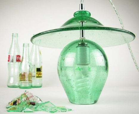 Recycled Glass Lighting | scatol8® | Scoop.it