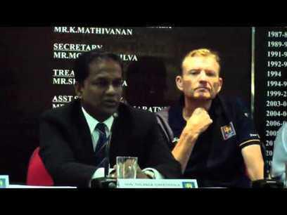 (Video) Press conference - Graham Ford returns as Sri Lanka head coach | Sri Lanka Cricket | Scoop.it