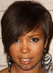 Wigs For Sale Short Sepia Female Straight Vogue Wigs 8 Inch : fairywigs.com | African American Wigs | Scoop.it