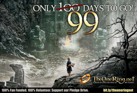 It's 99 days and counting until The Desolation of Smaug! - plus international release dates | 'The Hobbit' Film | Scoop.it
