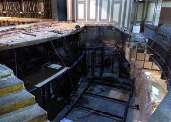Bones, skull revealed in opera stage renovation - Hurriyet Daily News   Archaeology News   Scoop.it