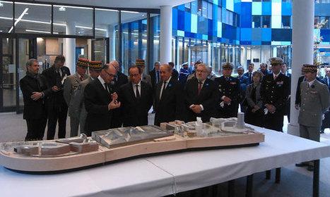 François Hollande inaugure l'Hexagone Balard | Defense | Scoop.it