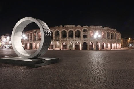 Redesigning the panorama of the Verona Arena: Stone Gate by Lithos Design - DZine Trip | What Surrounds You | Scoop.it
