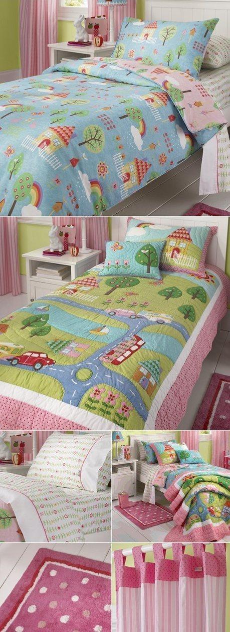 cottonbox - bed linen :: Quilt Cover Sets, kids bed linen, Duvet Cover Sets, Buy bed linen, quilt sets, comforter, bed linen Australia - My Garden Quilt Cover Set by Freckles | Bed Linen | Scoop.it