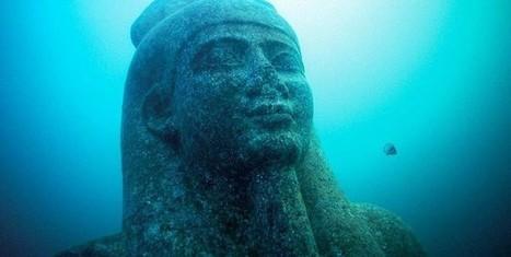Une Cité égyptienne retrouvée 1200 ans après avoir été engloutie | BRAIN SHOPPING • CULTURE, CINÉMA, PUB, WEB, ART, BUZZ, INSOLITE, GEEK • | Scoop.it