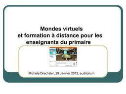 Académie Orléans-Tours. Utiliser les mondes virtuels pour la formation hybride au primaire | blended learning | Scoop.it