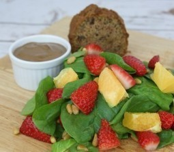 Strawberry Orange & Spinach Salad | Monthly Special Box Lunch| Ingallina's Box Lunch Seattle | Box lunch | Scoop.it