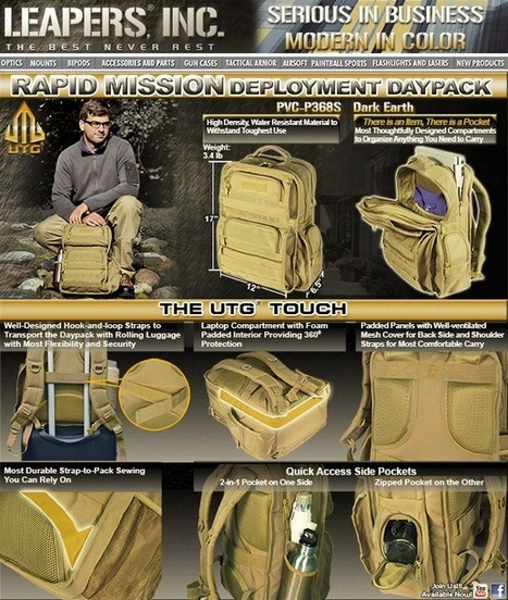Leapers/UTG – Rapid Mission Deployment Daypack | Airsoft Showoffs | Scoop.it