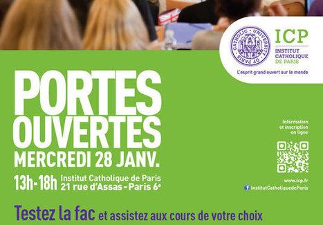 Testez la Fac avant le Bac ! - Institut Catholique de Paris | concours post bac | Scoop.it
