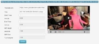 Convertir videos de youtube en GIF con YouTube to GIF | La Baja en Red | @uyanet | Scoop.it