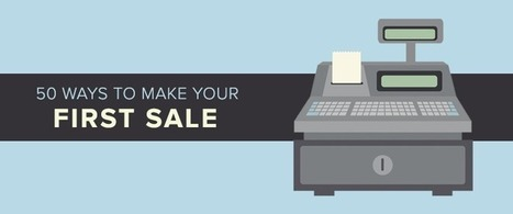 50 Ways to Make Your First Sale – Shopify | Links sobre Marketing, SEO y Social Media | Scoop.it