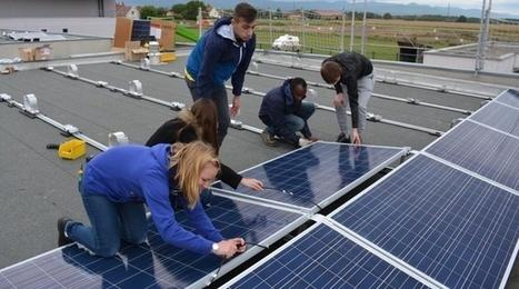 Des lycéens construisent une centrale solaire à côté de Fessenheim | Innovation territoriale, développement durable et projets d'avenir | Scoop.it