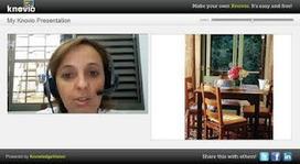 Life Feast: KNOVIO tutorial | Digital Presentations in Education | Scoop.it
