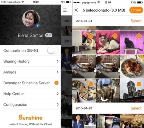 3 apps para compartir ficheros de gran tamaño en tu móvil | Estoy explorando | Scoop.it