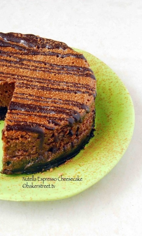 Nutella Espresso Cheesecake | All kind of food | Scoop.it