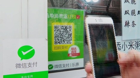 How to get by in Beijing without a wallet | QR Codes, Beacons & NFCs | Scoop.it