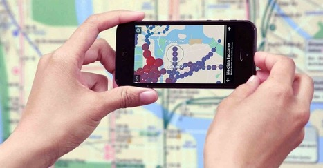 Tunnel Vision Uses Augmented Reality to Animate NYC Subway Maps | Disruptive Innovation | Scoop.it