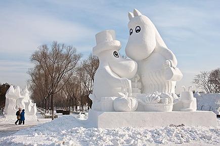 Snow Moomins | Finland | Scoop.it