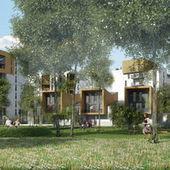 Un nouvel écoquartier sort de terre autour des berges du lac de ... - Le Monde   Habitats de demain   Scoop.it