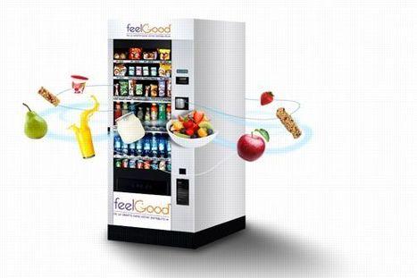 Les distributeurs automatiques élargissent leur offre | finger food | Scoop.it