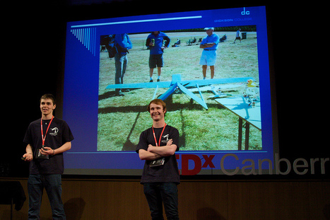 Michael Engemann and Damien Tonkin - Building a rescue UAV   Engaging students in their education   Scoop.it