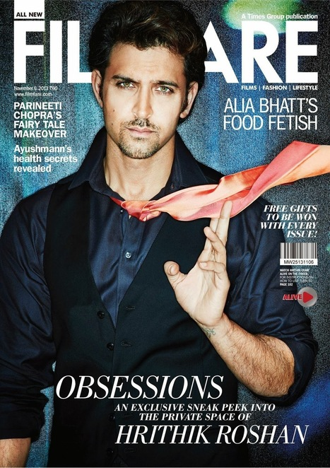 Hrithik Roshan Magazine Cover - Filmfare November 2013 - 99share.in | Photoshoot | Scoop.it