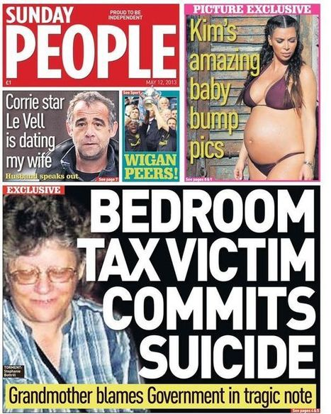 Bedroom Tax to hit a million more people as Tories launch 100-day welfare blitz | Psycholitics & Psychonomics | Scoop.it