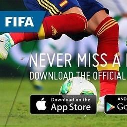 FIFA launches official football app - FIFA.com | Social Media Sports Marketing | Scoop.it
