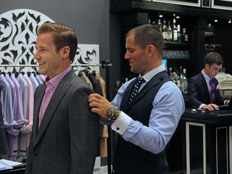 5 Things To Know Before Buying A Custom Suit - Business Insider | Azrim: Az Designer Az You | Scoop.it
