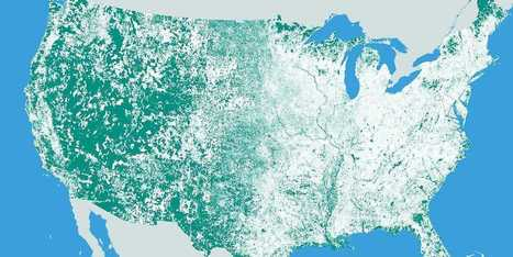 This Map Shows That Nearly Half Of America Is Uninhabited | STEM Education models and innovations with Gaming | Scoop.it