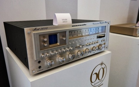 Rétrospective en images sur les 60 ans de Marantz | ON-TopAudio | Scoop.it