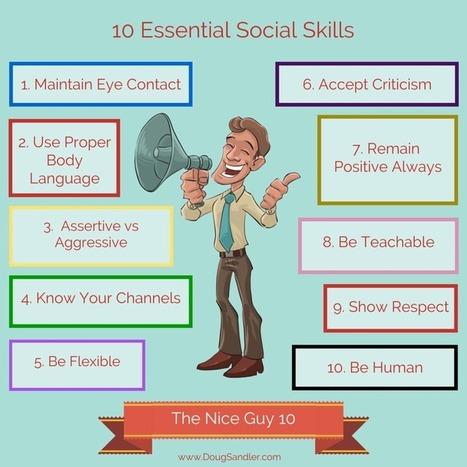 10 Social Skills Essential for Success | Social Cognition | Scoop.it