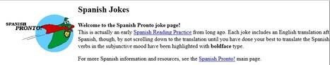 Spanish Jokes | Las TIC en el aula de ELE | Scoop.it