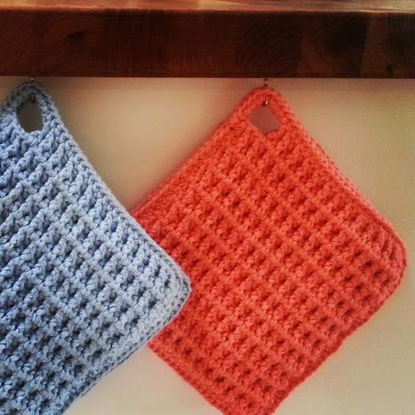 Mmm...: Grydelapper - Et hurtigt hæklet sommerprojekt | Crochet | Scoop.it