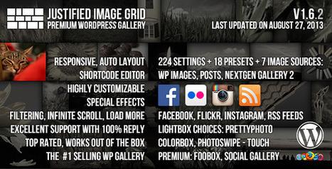 Justified Image Grid 1.6.2 Premium WordPress Gallery [PAID]   Download Free Full Scripts   Justified Image Grid 1.6.2   Scoop.it