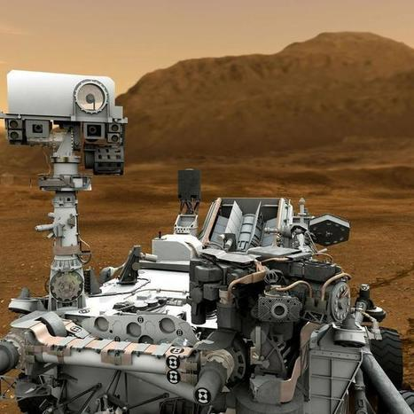 Curiosity Rover Goes Solo on Mars for First Time | Science is Cool! | Scoop.it