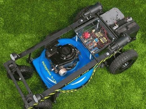 Make an Arduino-Controlled R/C Lawn Mower   Arduino Focus   Scoop.it