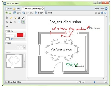 Skype-Enabled Collaborative Whiteboard: IDroo (Win) | Mobile Websites vs Mobile Apps | Scoop.it