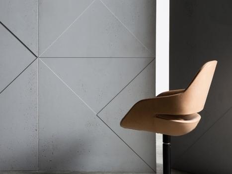 Des panneaux de béton décoratifs signés par des grands du design | Le béton créatif et poétique | Scoop.it