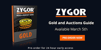 Zygor WoW Gold Addon Release Date Announced | Video Game Guides | Scoop.it