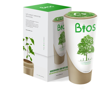 Bios Urn - Biodegradable Urn with seed | Emprendeduría social | Scoop.it
