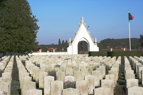Le cimetière militaire portugais de la Première guerre mondiale - Balades Historiques | tourisme historique | Scoop.it