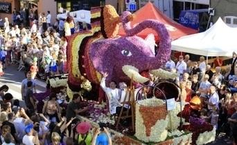 Corso fleuri : une superbe parade de fleurs inspirée par les arts à ... - L'Alsace.fr | L'actualité sur le métier de fleuriste | Scoop.it