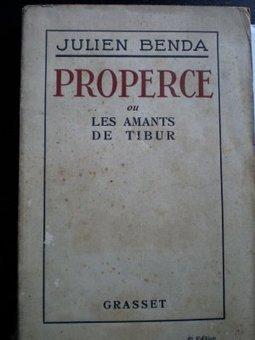 HISTORIAS NO ACADÉMICAS DE LA LITERATURA: Julien Benda: Propercio, o los amantes del Tíbur | Literatura latina | Scoop.it