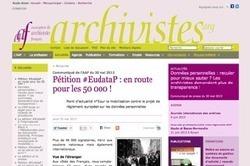 Droit à l'oubli : archivistes et généalogistes commencent à être entendus | Mémoire vive - Coté scoop.it | Scoop.it