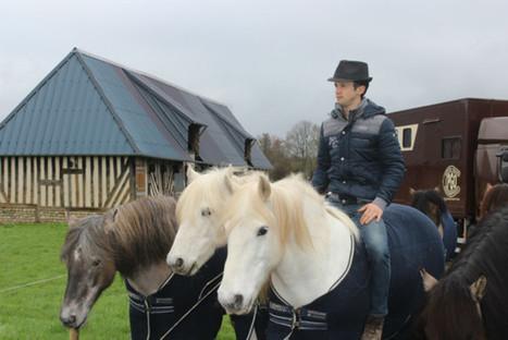 Tourgéville Pierre Fleury, l'homme qui murmurait à l'oreille des chevaux | Salon du Cheval | Scoop.it