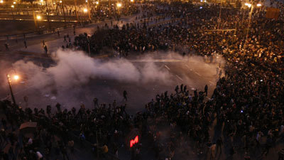 Egypt Protests: Three Dead After Police Clash With Demonstrators In Cairo And Other Cities | World News | Sky News | Coveting Freedom | Scoop.it