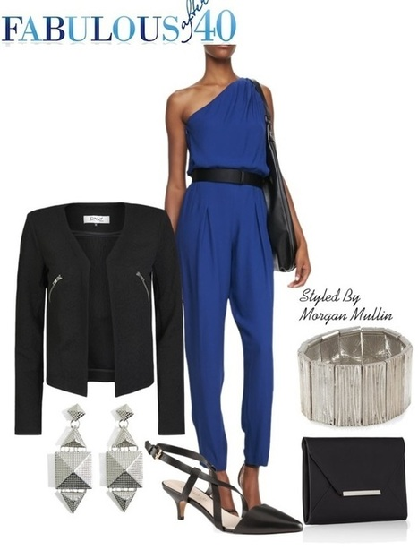 How To Wear a Jumpsuit After 40 | Fashion for Women | Scoop.it