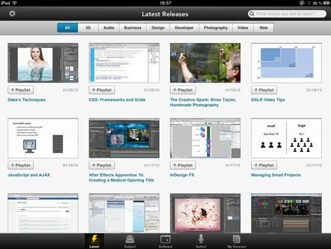 Learning with Lynda.com on iPad   iPad Insight   iPads, MakerEd and More  in Education   Scoop.it