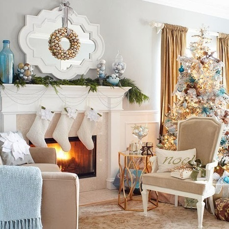 Mix and Chic: Beautiful Christmas decorating ideas! | Christmas | Scoop.it